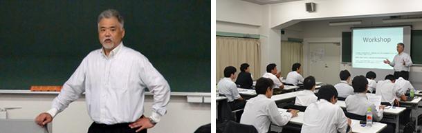 JCSSA主催のセミナー/研修 提案力強化研修の様子を写した横並びの2枚の写真